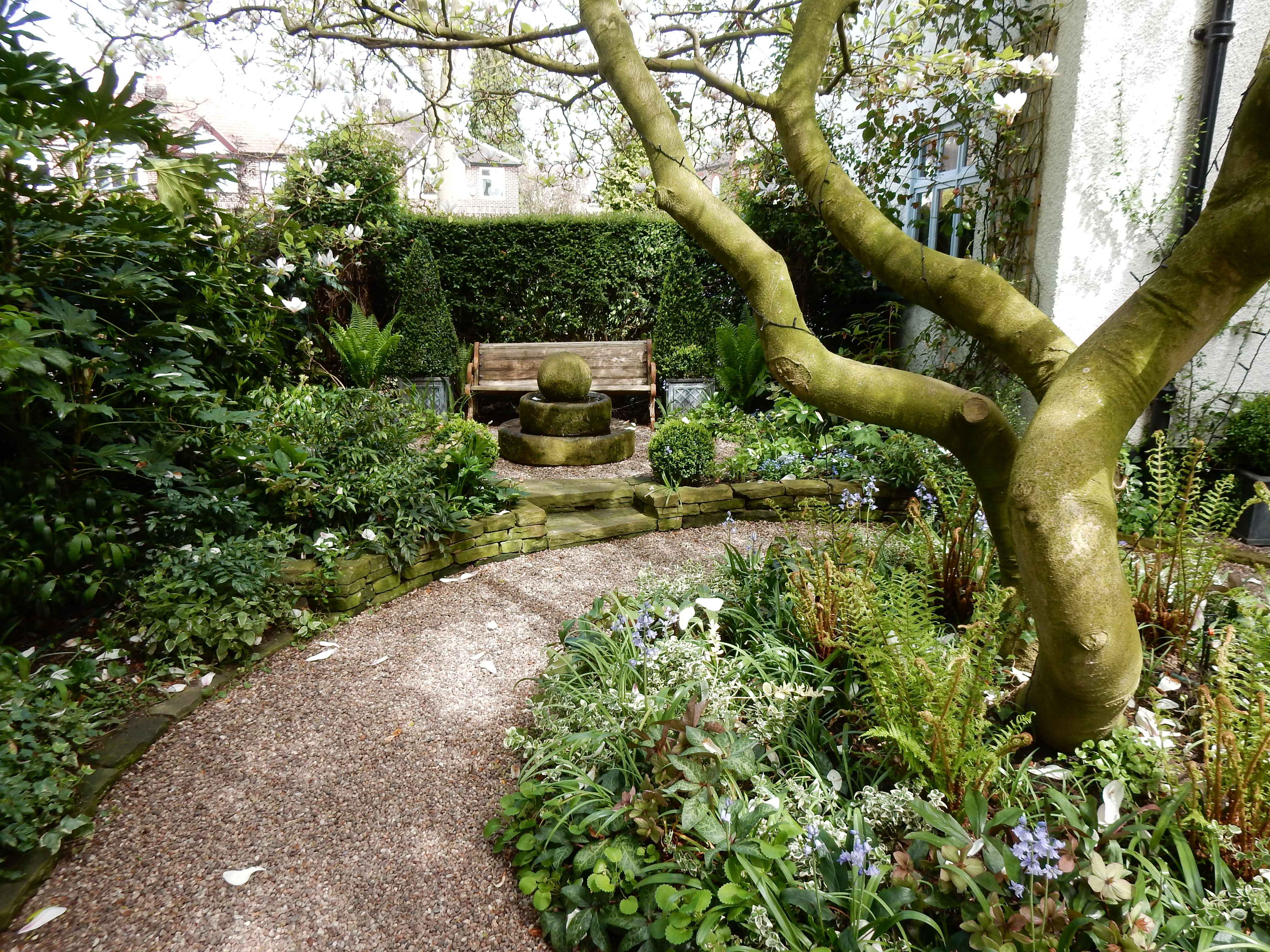 Relatively Common Plants Are Repeated Throughout This Masterly Shade Garden  To Great Effect. It Just Shows That Putting Plants Together Is Both An Art  As ...